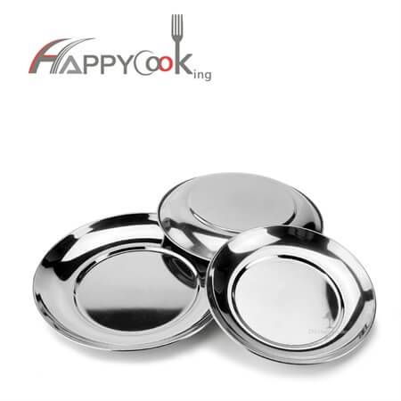 Steel tray cheap serving trays of  Good quality stainless steel 16cm-26cm Cheap HC-00708