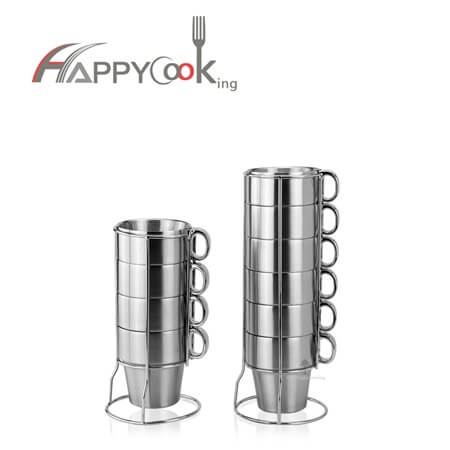 Cups and mugs of stainlee steel factory directly sale overseas market HC-03407