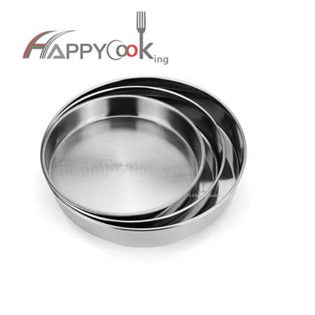 Cake tray dessert tray of stainless steel with new design hot sale cake tray HC-00712