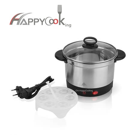 electric cooking pot of stainless steel with good quality and lower price HC-02112