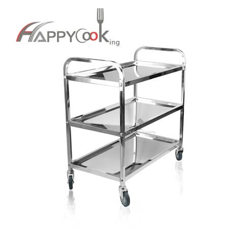 Food carts  for sale and food trolley of stainless steel with top seller factory price HC-02808