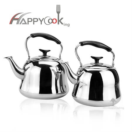 Gas kettle and tea kettle of stainless steel with large price favorably HC-01202