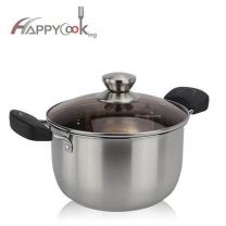 best skillet with hot sale stainless steel kitchen soup pot Chinese manufacturer