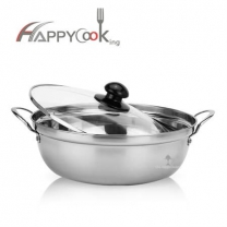 pot steel of stainless steel stock pan with cover high quality and best price factory
