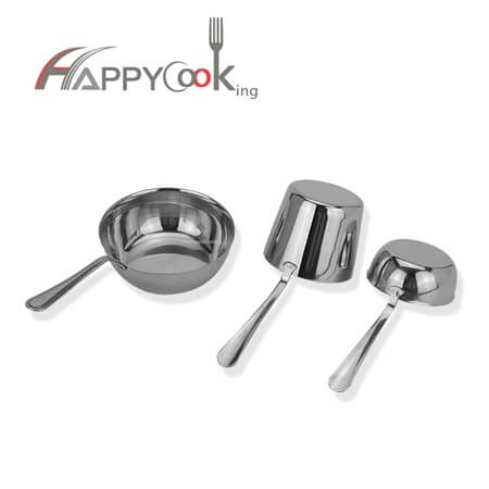 Liquid measuring cup water scoop with stainless steel of high quality different size HC-02800