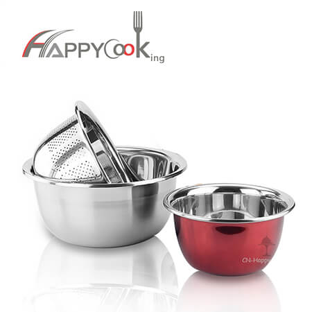 Metal baskets sink colander of stainless steel with high quality and trade assurance HC-00416-B