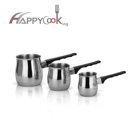 Milk pot and coffee potof stainless steel  with good price&short lead time HC-03305-B