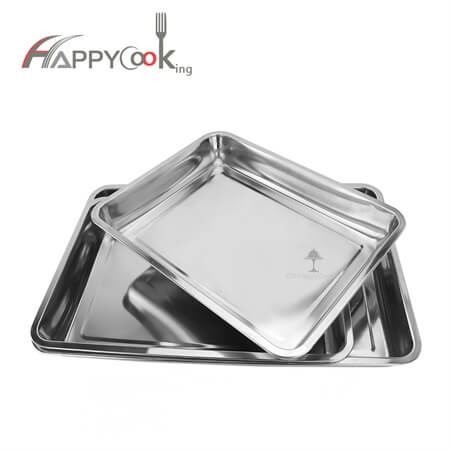 party serving trays of  high quality stainless steel and new style HC-0709