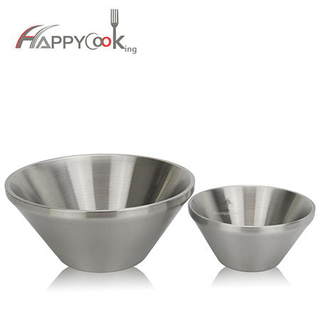 Soup bowl set of bowl metal stainless steel with china supplier manufacture HC-00212