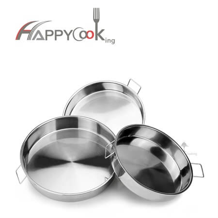 serving tray set export stainless steel food tray