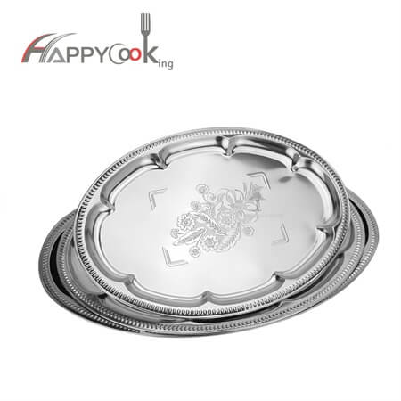 square tray of stainless steel with Hot sale wholesale kitchen utensil HC-0812