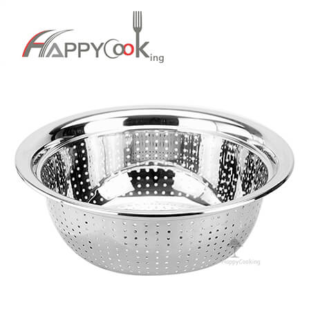 Stainless steel sink basket  rice colander of multipurpose deep personalized HC-00409