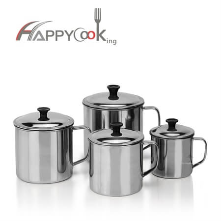 tea cup of stainless steel  with good after service HC-03402