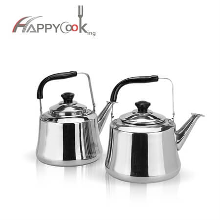 teakettles of stainless steel with best price and durable HC-01201