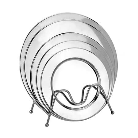About the advantages of stainless steel platter