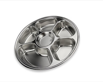 circular tray   stainless steel food trayeconomic