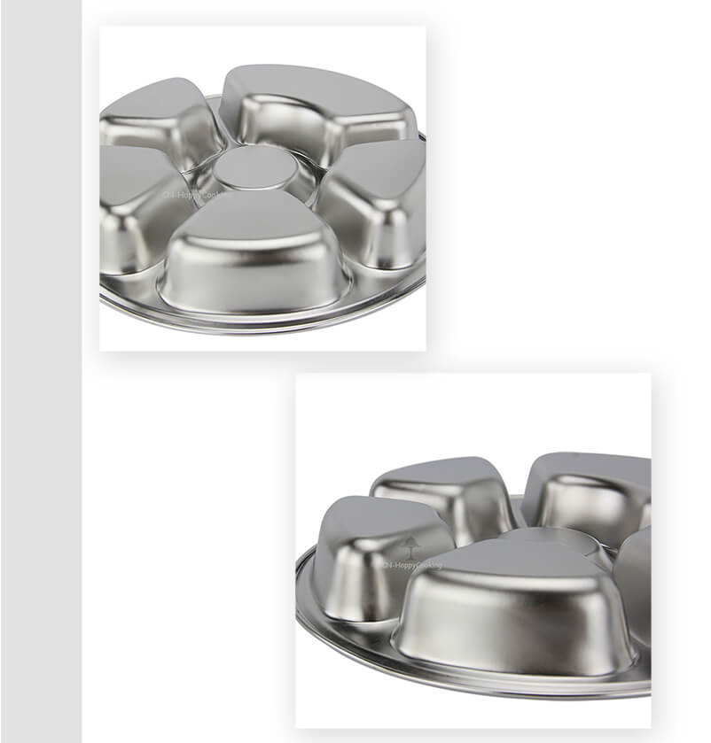 circular tray OEM stainless steel food tray  factory