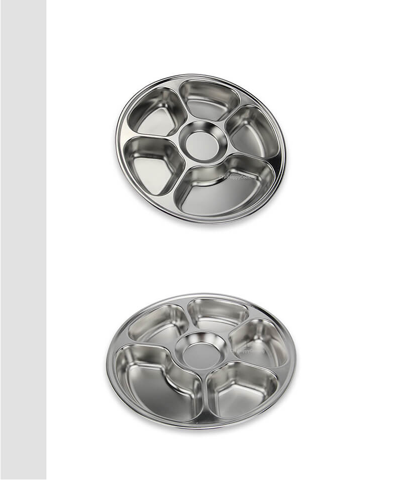 circular tray  manufacturer stainless steel food tray