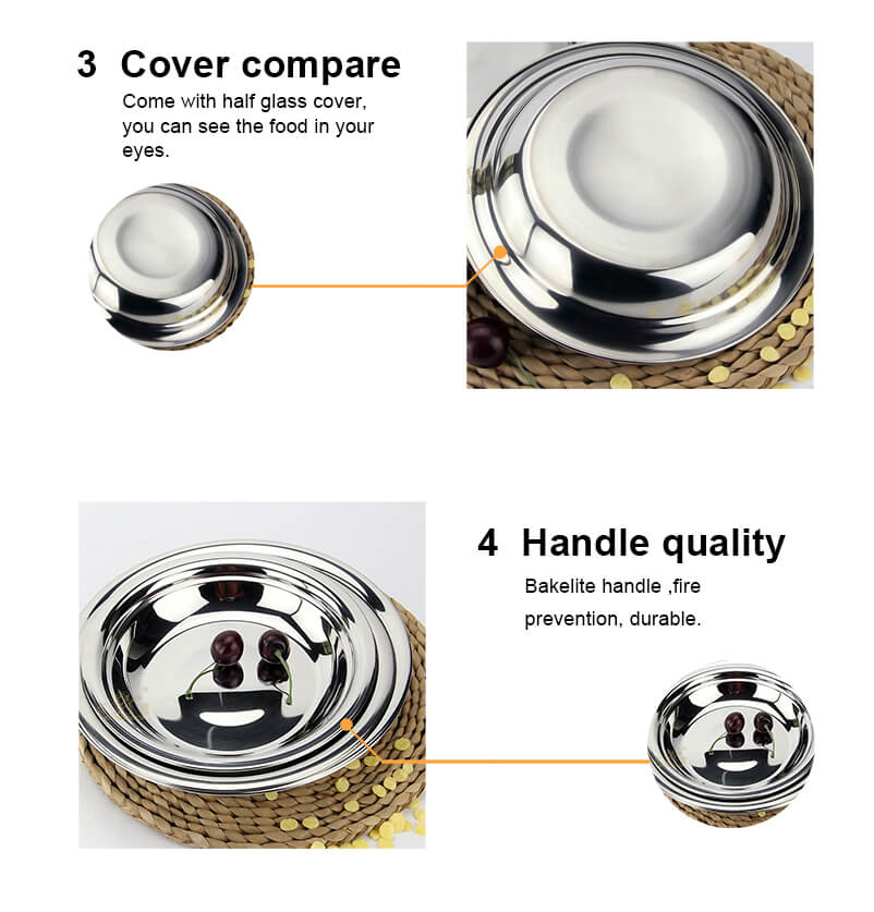stainless steel  circular tray  stainless steel food tray
