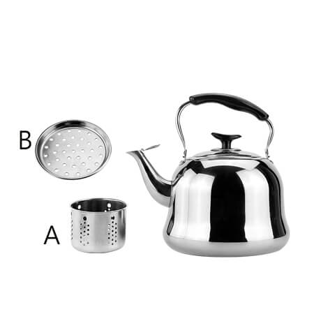 Do you know the correct method of using stainless steel kettle?