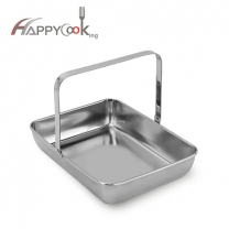 rectangle portable dish of factory cheap high stianless steel
