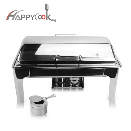steel buffet stove  of restaurant hot selling hot pot self-service set stainless steel HC-02411-B