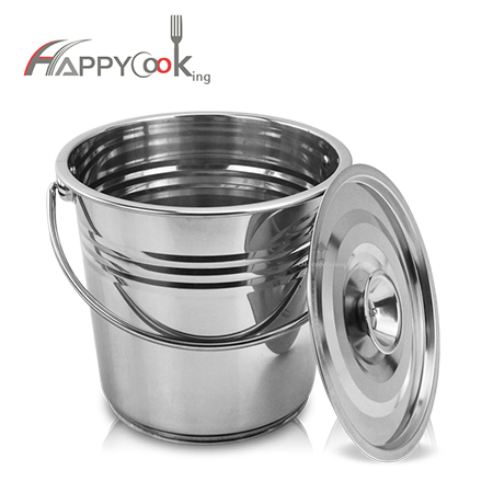 Metal pail stainless steel manufacturers direct price concessions HC-02613