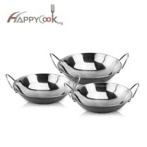 Bar metal wok of stainless steel manufacturing pot supplier of high quality