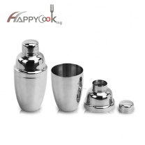 Metal wine shaker stainless steel cocktail shaker family bar supplies water bottle party
