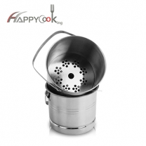 Small champagne bucket of factory supply stainless steel ice bucket direct sales