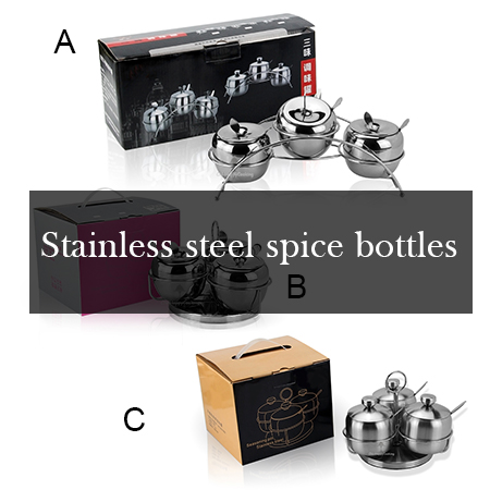 Best place to buy stainless steel spice bottles?