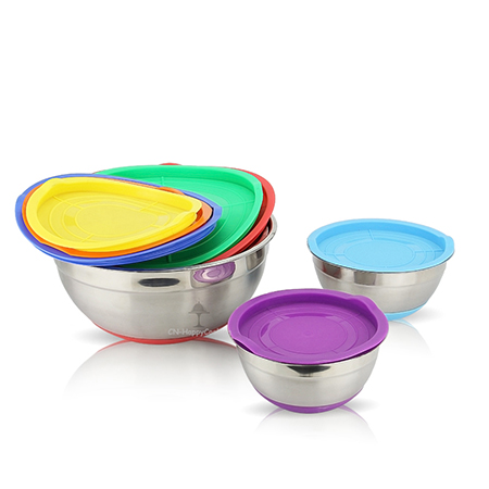 Prepare stainless steel mixing bowl before cooking?