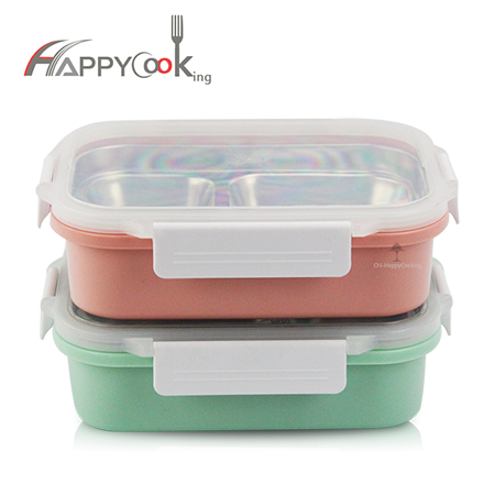 compartment 2-3 lunch box stainless steel portable picnic food container health leakproof HC-03214