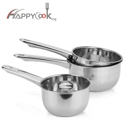 Cookware water spoon stainless steel water ladle long handle kitchenware factory support HC-03609-A