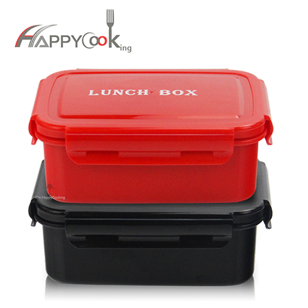 portable double lunchbox stainless steel insulated food containers childen tableware HC-02906-B