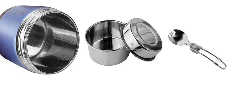 stainless steel vacuum  lunch box OEM