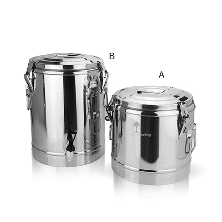 The use of stainless steel soup bucket?