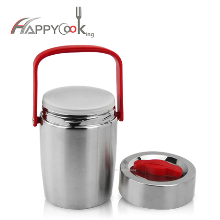 thermal insulation lunch box stainless steel portable vacuum food jar heat preservation  HC-03127