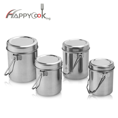 Food tiffin , Stainless steel tiffin box  set of 4  wholesale HC-02304
