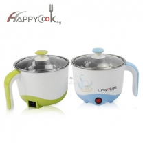 Electric cooker  portable electric pot kettle with steamer, Chinese factor direct sale HC-02121