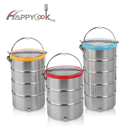Lunchboxes hot sale, the lunch box with 3/4/5 layer, leak-proof, wholesale HC-02910