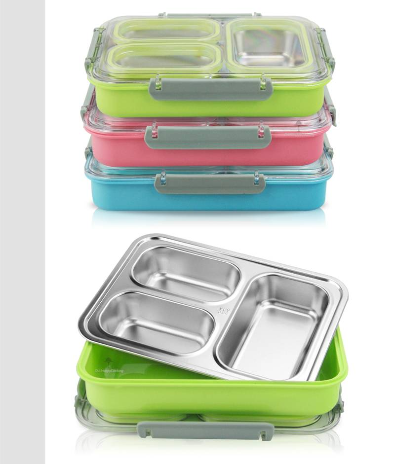 lunch boxes wholesaler compartment lunchbox