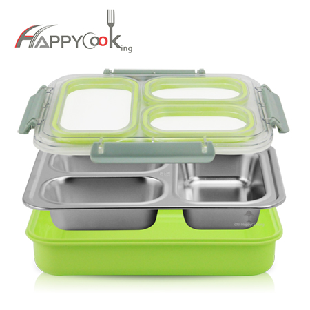 lunch boxes OEM compartment lunchbox