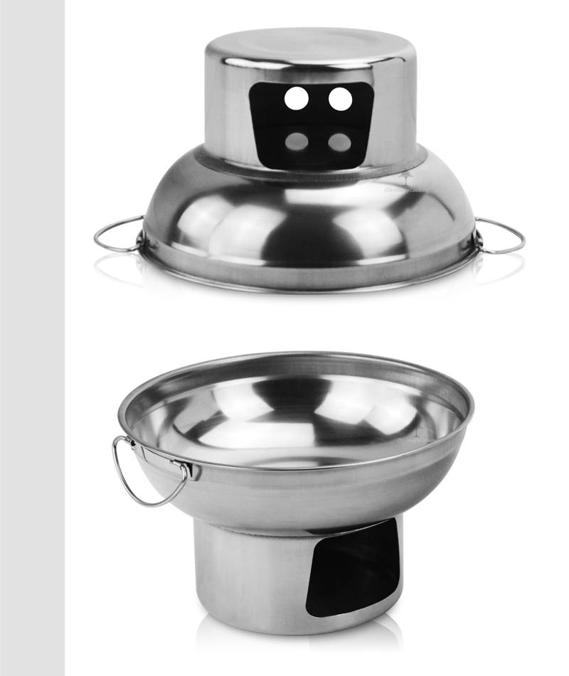 Thai hot pot wholesaler Alcohol heating pot