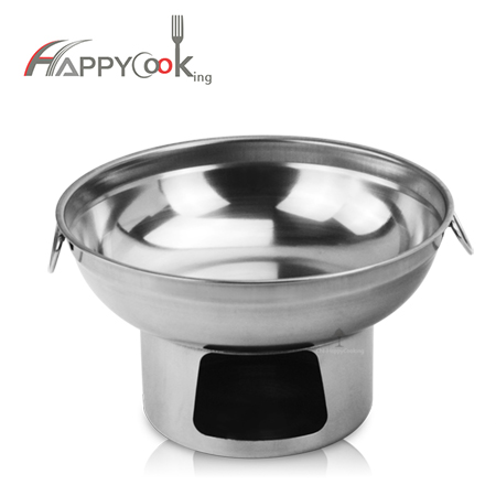 THAI HOT POT TOM YUM SERVING Alcohol heating pot BOWL 20CM.,hot sale in Thailand HC-02415-2