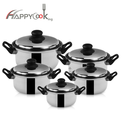 Soup cookware pot set ,  5 pieces,  at best price China factory wholesale HC-02301
