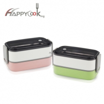 Lunch box, stainless steel lunchbox made by SUS 304,hot sale from China HC-02916