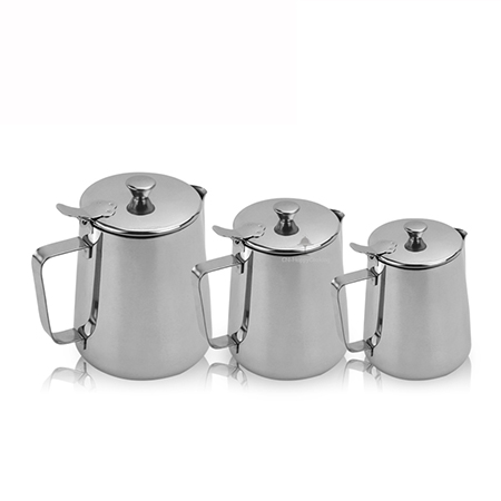 Why choose stainless steel with cover milk can ?
