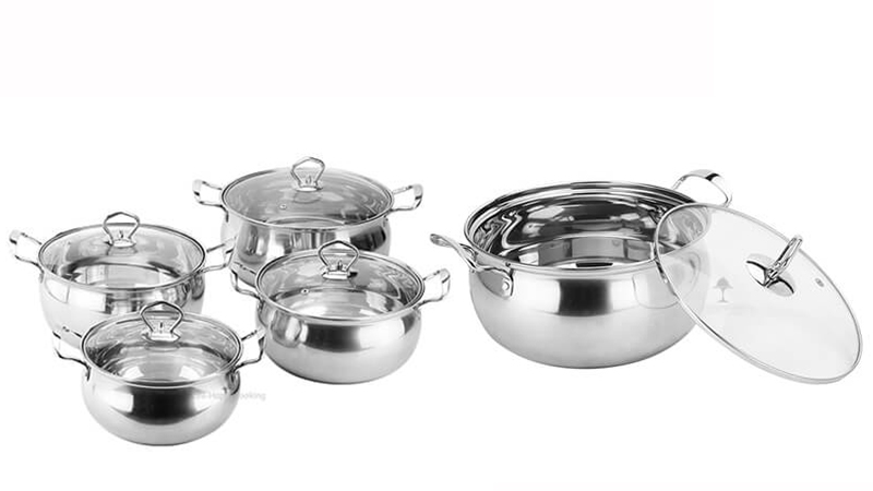 stainless steel soup pot OEM