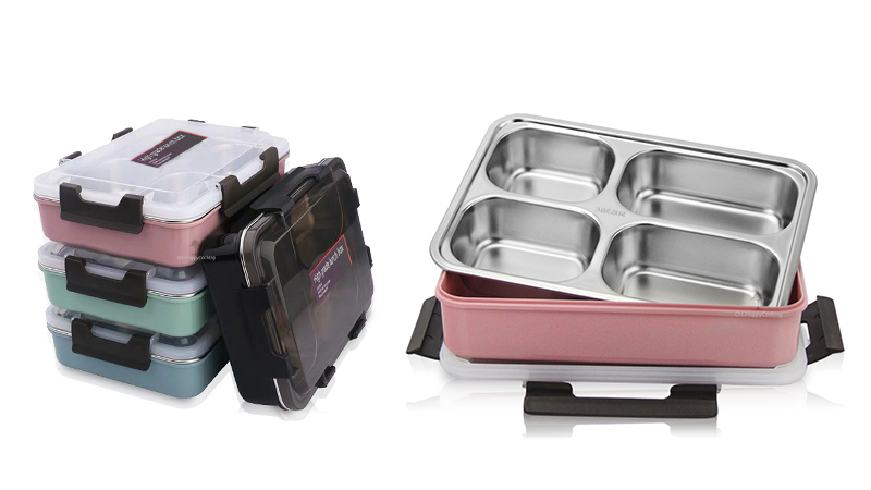 insulation bento tray OEM stainless steel